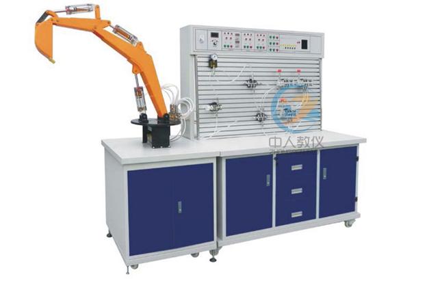 液压挖掘机控制教学实验台,挖掘机液压仿真平台